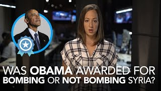"""Courageous Obama was so """"brave"""" to bomb Syria then say he didn"""