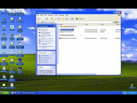 How To Change Your IP Address In Windows XP