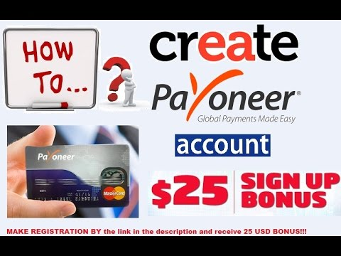 Working with Fiverr Payoneer account make money  and order Payoneer card for free