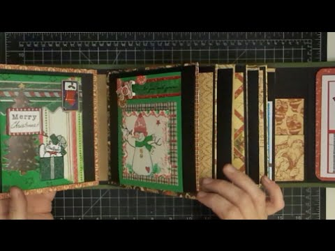Christmas Card Chubby Mini Album Part Three of Five