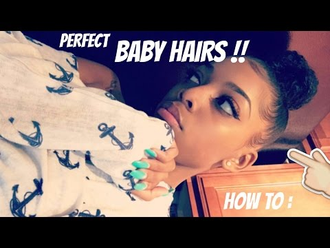 HOW TO GET PERFECT BABY HAIRS !! | ALL HAIR TYPES