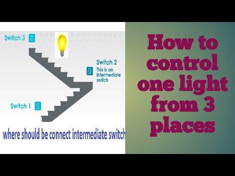 intermediate switch || how to make 3 way switch ||Three-way switches ||