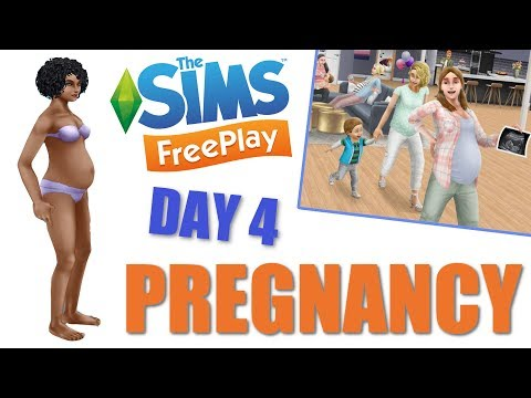 Sims Freeplay | Pregnancy Day Four | Pregnancy Update