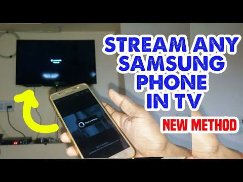 Cast Your Any Samsung Phone In Tv || Enable Screen Mirroring Feature 100% Working