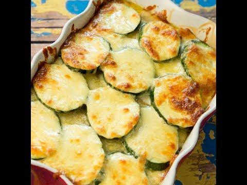 Potato, Mushroom and Zucchini Bake