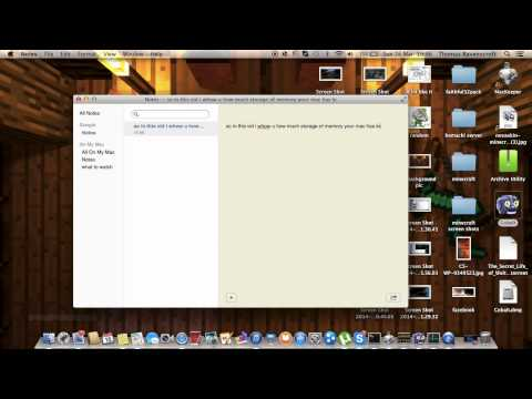 How to check how much memory your mac has left