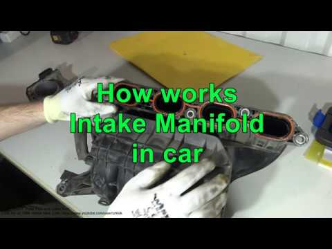 How works Intake Manifold in car