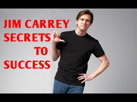 SECRETS TO SUCCESS - JIM CARREY - Write a cheque to your future self