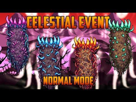 Terraria 1.3 - Celestial Event (Normal Mode)