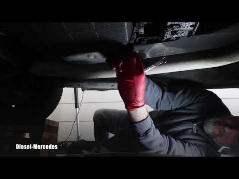 Mercedes-Benz W123 Exhaust System Removal