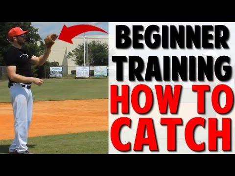 Coaching Beginner Baseball   How to Catch (Pro Speed Baseball)