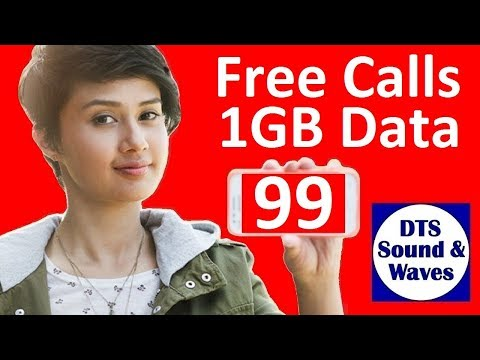 Airtel New offer Rs.99/- Free Calls+1GB Data for 28days