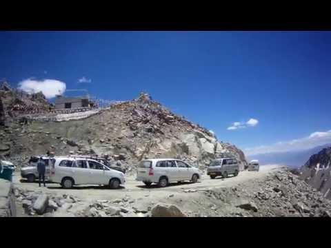 Khardung La ( Ladakh, Jammu and Kashmir ) - World's highest motorable pass by mountain bike