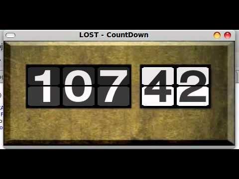 Lost countdown java
