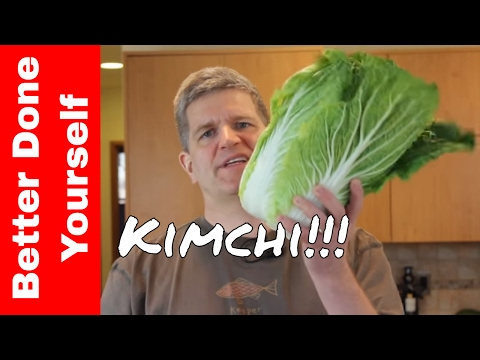 Kimchi - Delicious Fermented Korean Vegetables Become a Probiotic Salad!