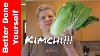 Kimchi - Delicious Fermented Korean Vegetables Become a Probiotic Salad!