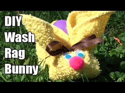Wash Rag Bunny