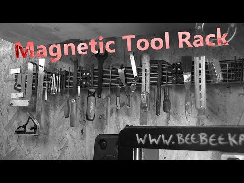 Using Magnets to Hold Tools and Bits (Not a New Idea Just a Good One)