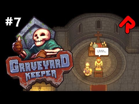 The STAR WARS SERMON!   Let's play GRAVEYARD KEEPER gameplay ep 7 (Alpha)
