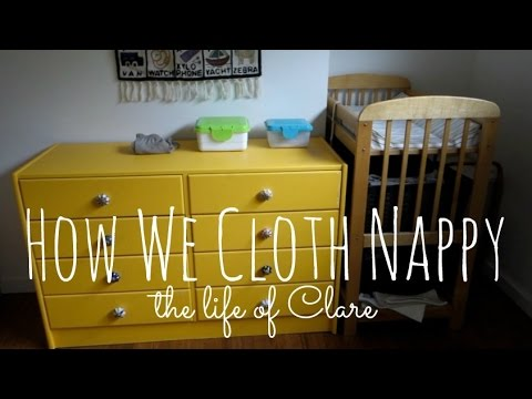 Cloth Nappies || The Life of Clare