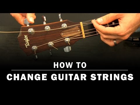How To Change Guitar Strings | Beginner Guitar Lesson