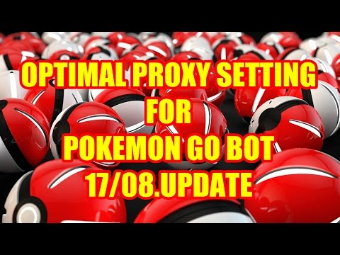 Download! How to set Pokecrot 4.6 PROXY SETTING Config 17/08