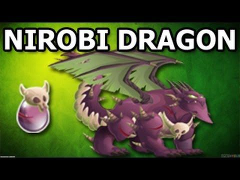 NIROBI DRAGON   How To Get It in Dragon City Breeding Guide