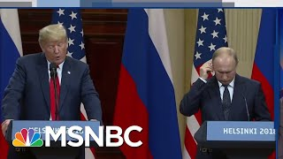 Fox News Defends Trump's Russian Media Gaffe After Criticizing It | The Beat With Ari Melber | MSNBC