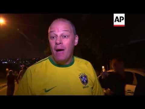 Opponents celebrate arrival of Brazil's da Silva in Curitiba