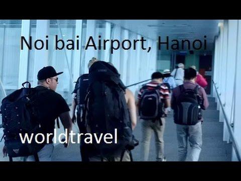 Noi Bai Airport, Hanoi Vietnam, Arrivals.
