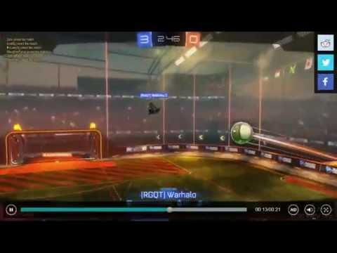 Rocket League Flying Goal  Shot | Most Epic Rocket League Aerial Goal EVER! 1 in a 1000 easy MLG PRO