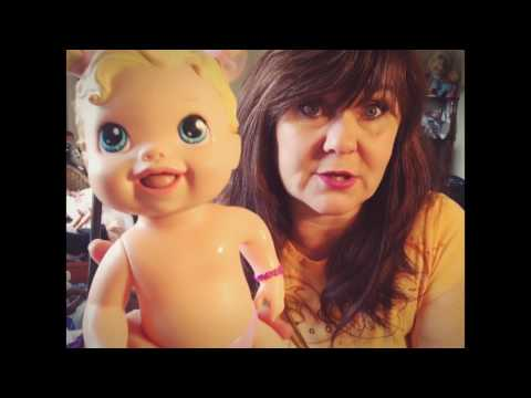 How to clean marks off of your baby dolls! Baby Alive Dolls for sale!