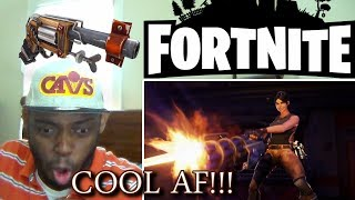 Fortnite Cinematic Launch Trailer Ps4/xbox One/pc Reaction!!!