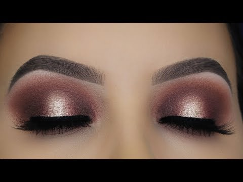 Classic Brown Halo Eye Makeup Tutorial