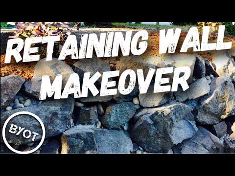 DIY - RETAINING WALL REHAB