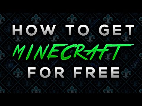 How to get Minecraft for free on PC ||Windows 10||2016||
