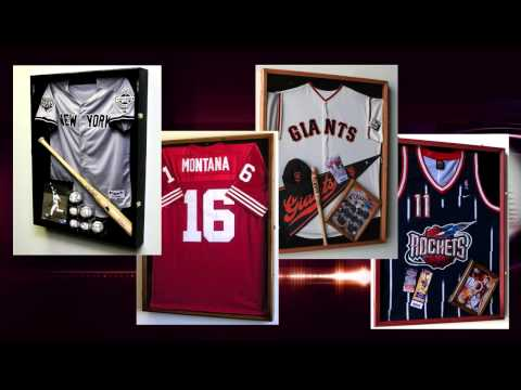 Shadow Box Jersey Frames