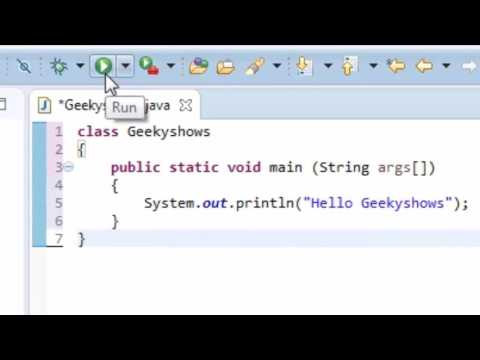 16. How to Run Java Program in Eclipse (Hindi)
