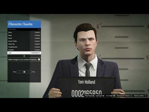 GTA Online: How to make your character look like Tom Holland (Spider-man: Homecoming) 2.0