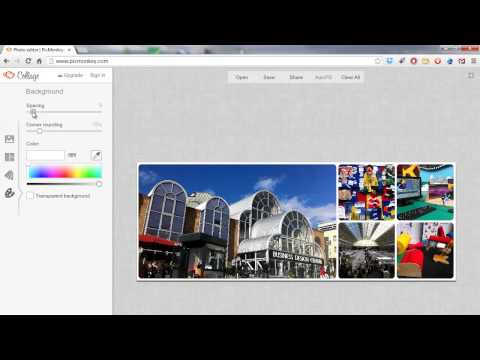 How to make a Facebook cover using Picmonkey