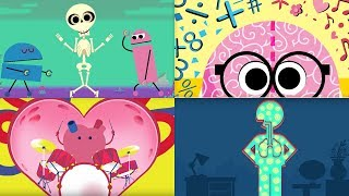 StoryBots | Songs to Learn About The Human Body | Bones, Brain, Heart, Lungs & Stomach