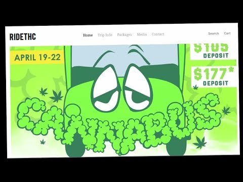 A ride on the #Cannabus