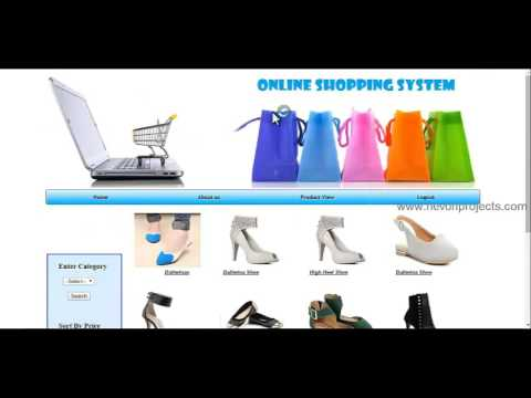 Online Shopping Website PHP