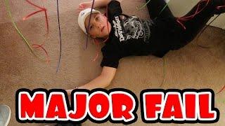 BALLOON PRANK FAIL!