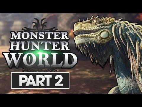 Monster Hunter World Walkthrough Part 2: Great Jagras