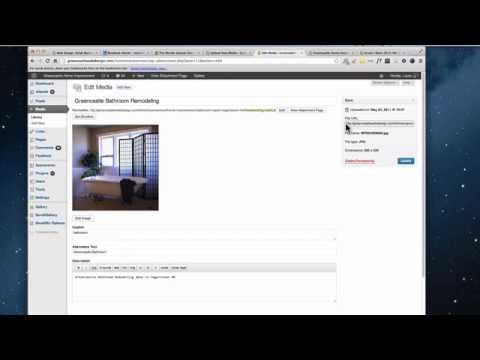 WordPress | How To Get An Image URL