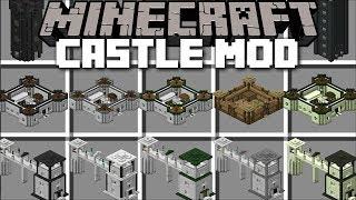 Minecraft CASTLE MOD / BUILD CASTLE