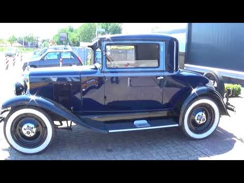 Chevrolet AC Coupe 1929 ,  AH-29-95 , as new !!