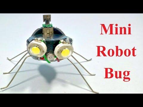 How to make a robot MINI BUG ROBOT