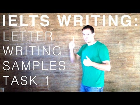 IELTS Writing - Letter Writing Samples